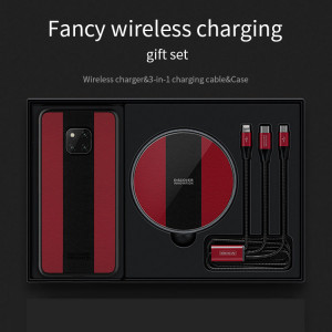 Nillkin Fancy Wireless Charging Gift Set With HUAWEI Mate 20 Pro Case