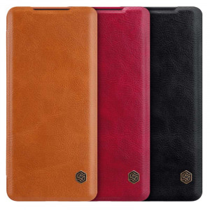 NILLKIN Qin Series Classic Flip Leather Protective Case For Samsung Galaxy S20 Ultra