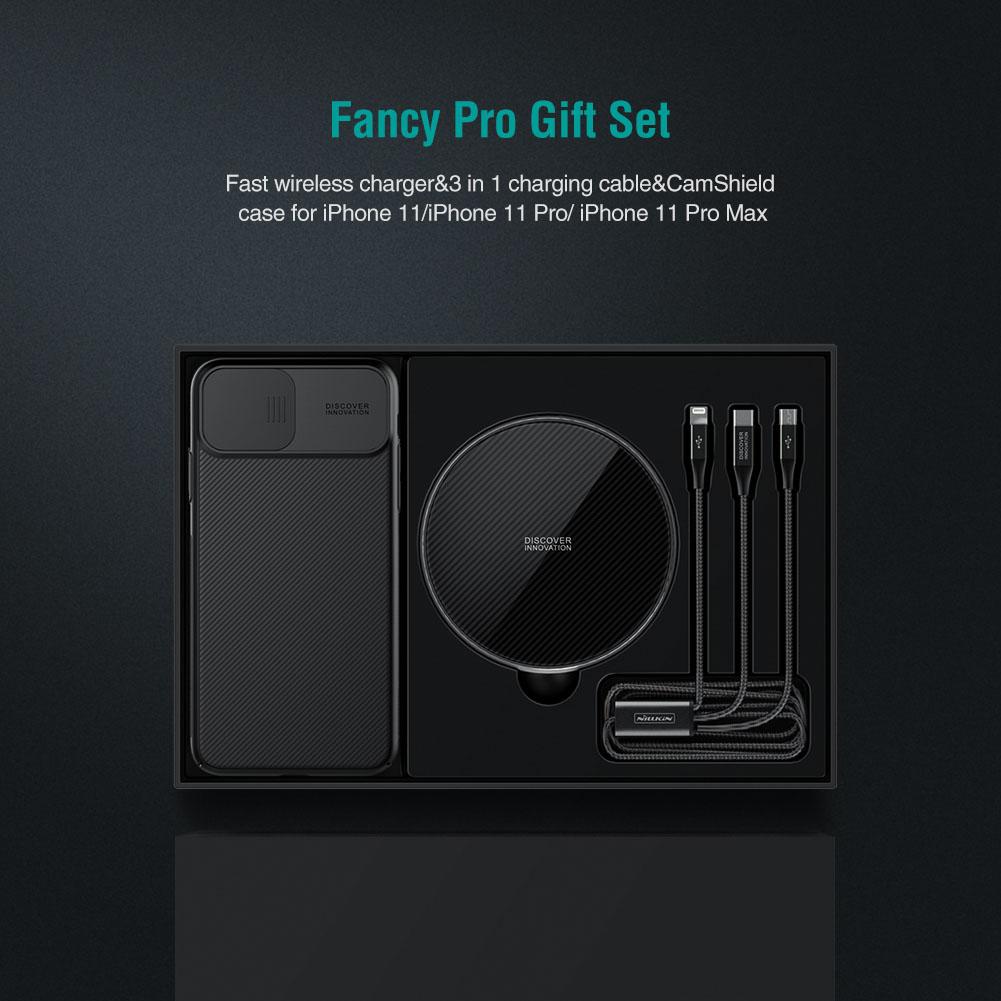 NILLKIN Fancy Pro Wireless Charger Gift Set