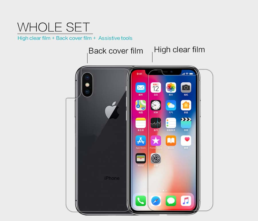 iPhone X screen protector
