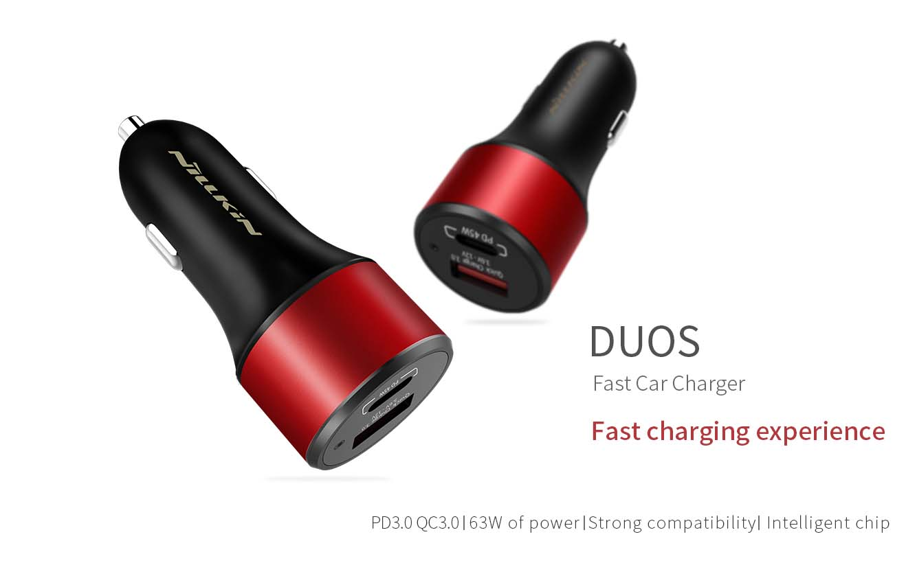 NILLKIN DUOS Fast Car Charger