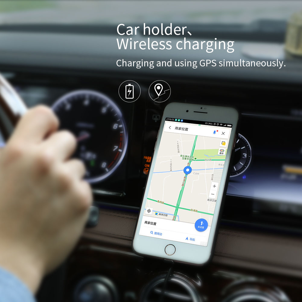 NILLKIN Fast Charge Edition Car Magnetic Wireless Charger