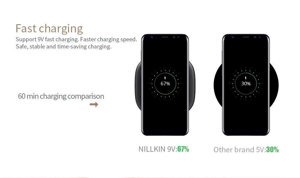 NILLKIN PowerChic Fast Wireless Charger