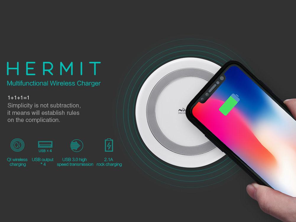 Nillkin Hermit 3 in1 Multifunctional Wireless Charger
