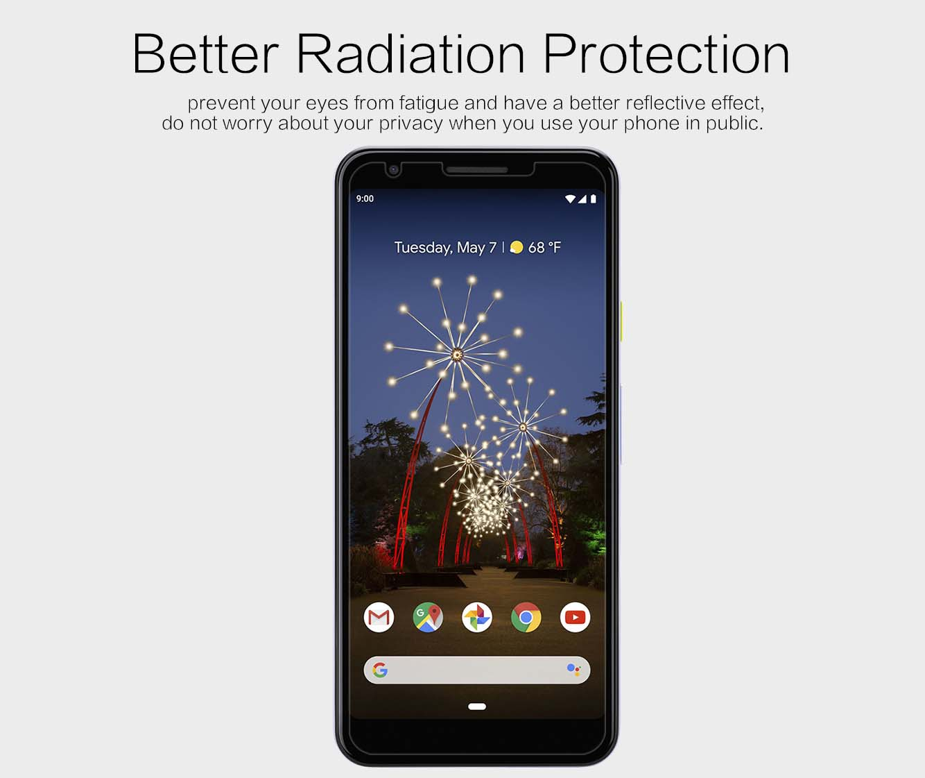 Google Pixel 3a screen protector
