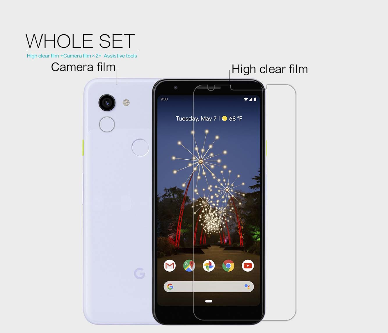 Google Pixel 3a XL screen protector