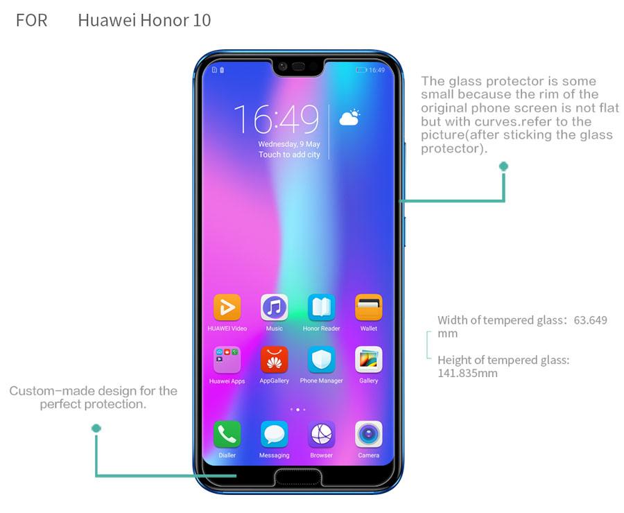 HUAWEI Honor 10 screen protector