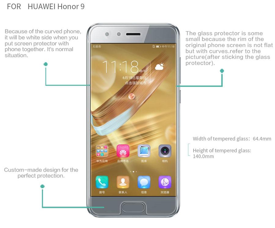 HUAWEI Honor 9 screen protector