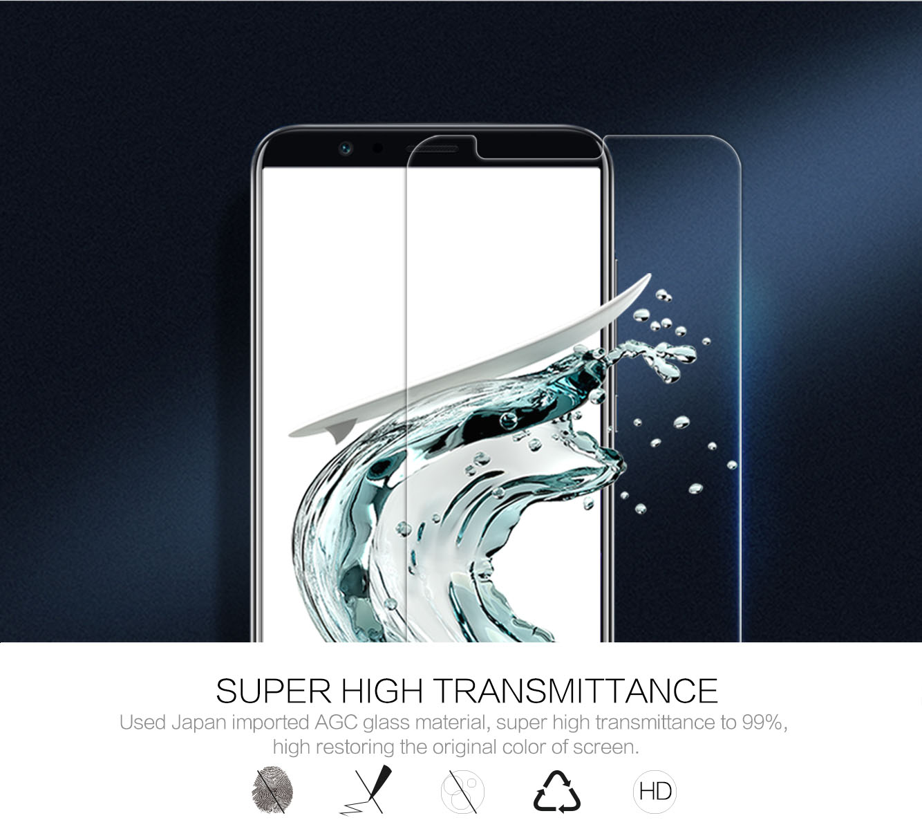 HUAWEI Honor V10 screen protector