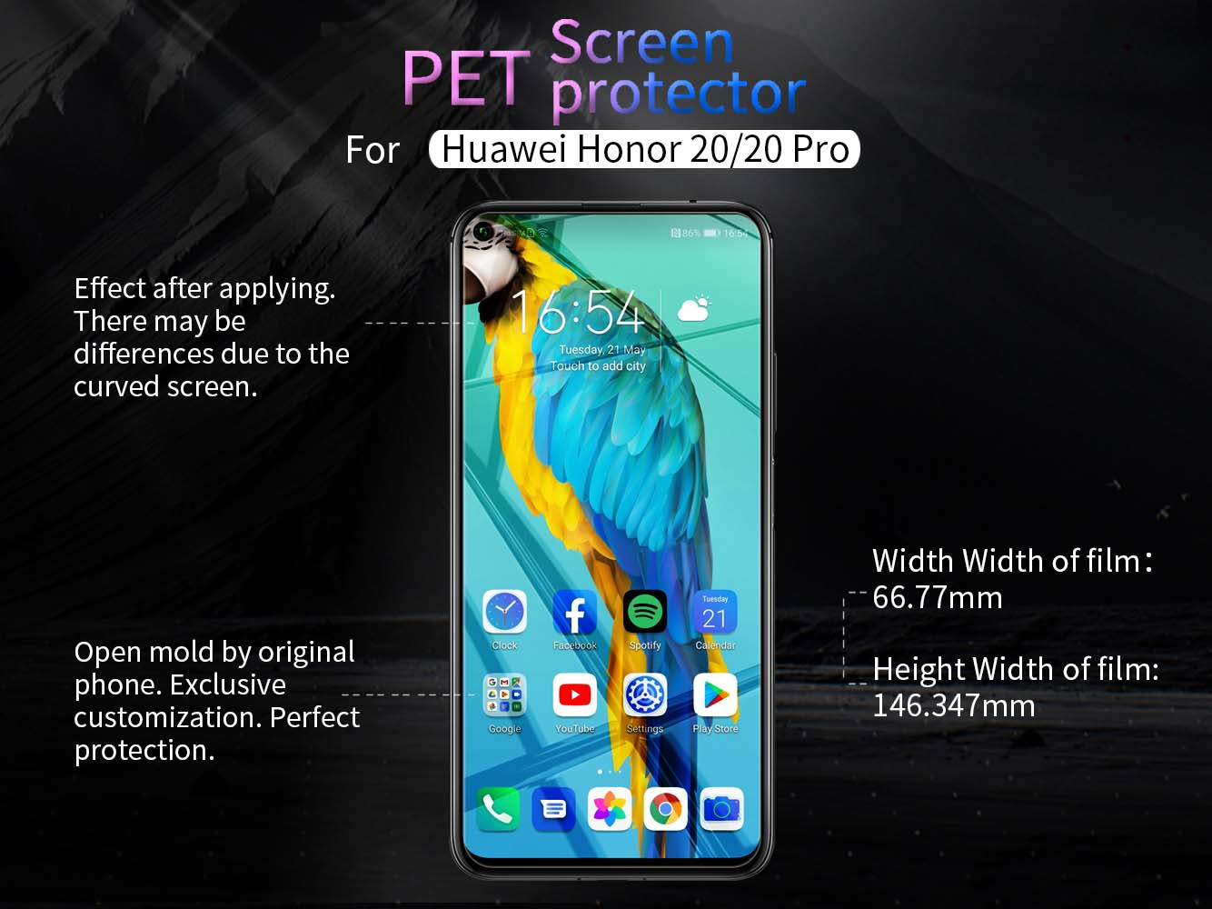 HUAWEI Honor 20 screen protector