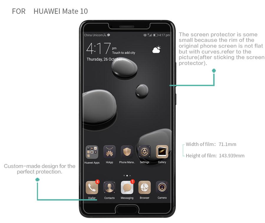 HUAWEI Mate 10 screen protector