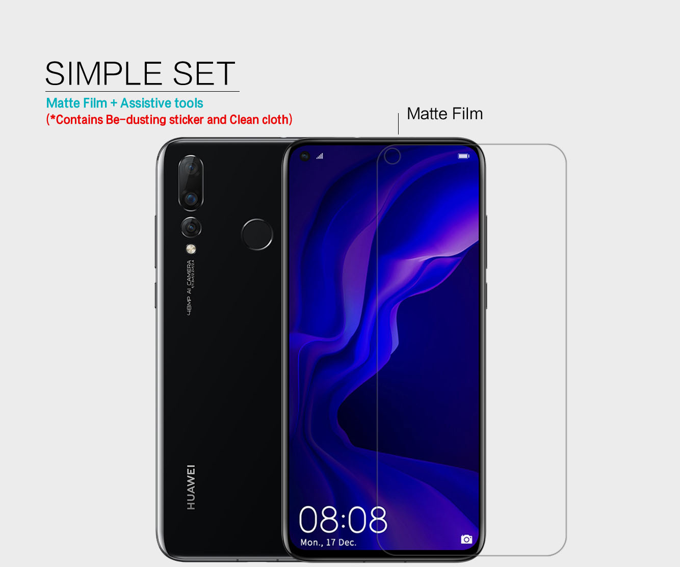HUAWEI Nova 4 screen protector