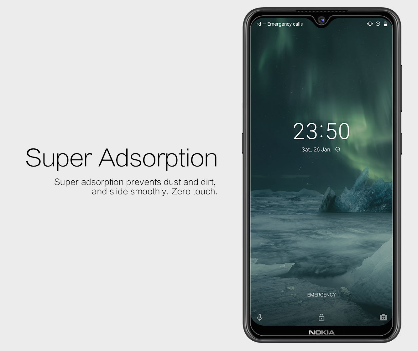 Nokia 7.2 screen protector