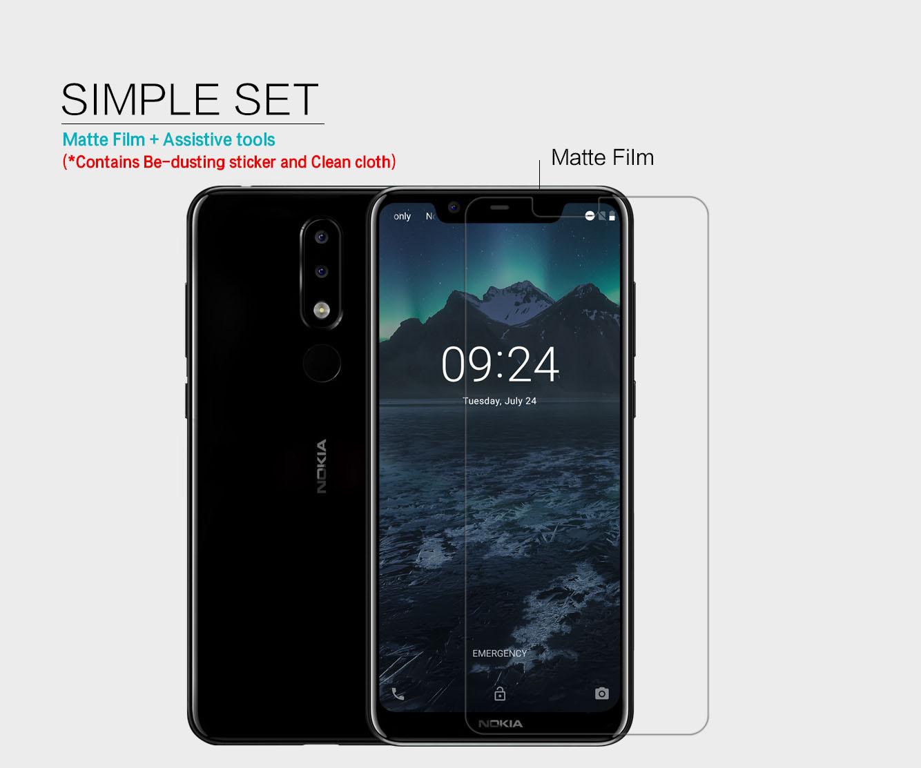 Nokia 5.1 Plus screen protector