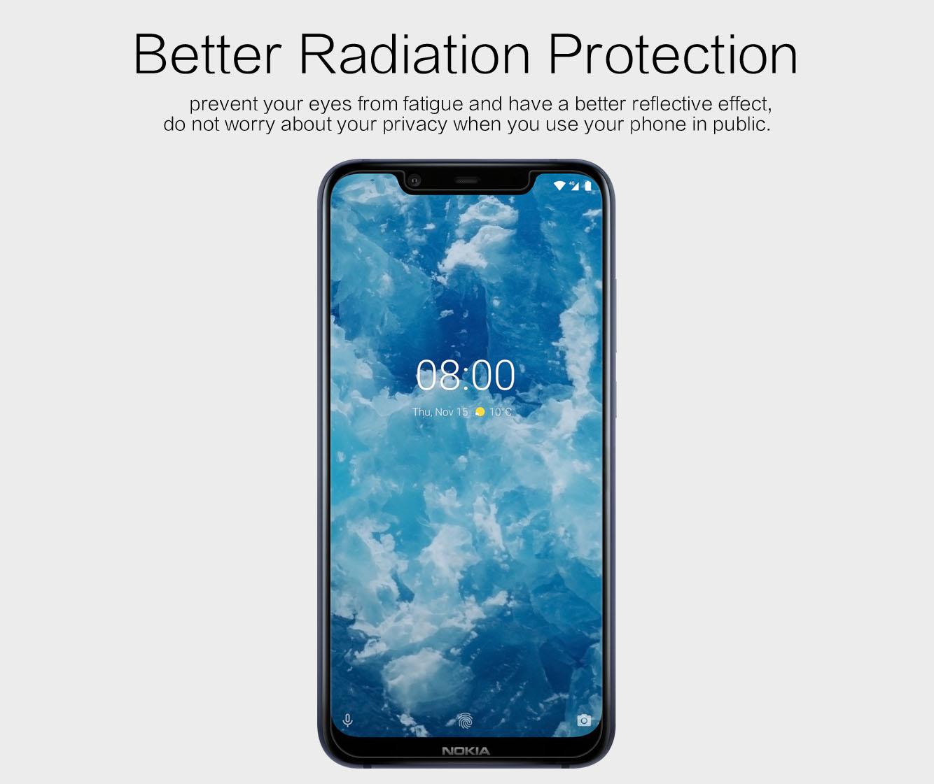 Nokia 8.1 screen protector
