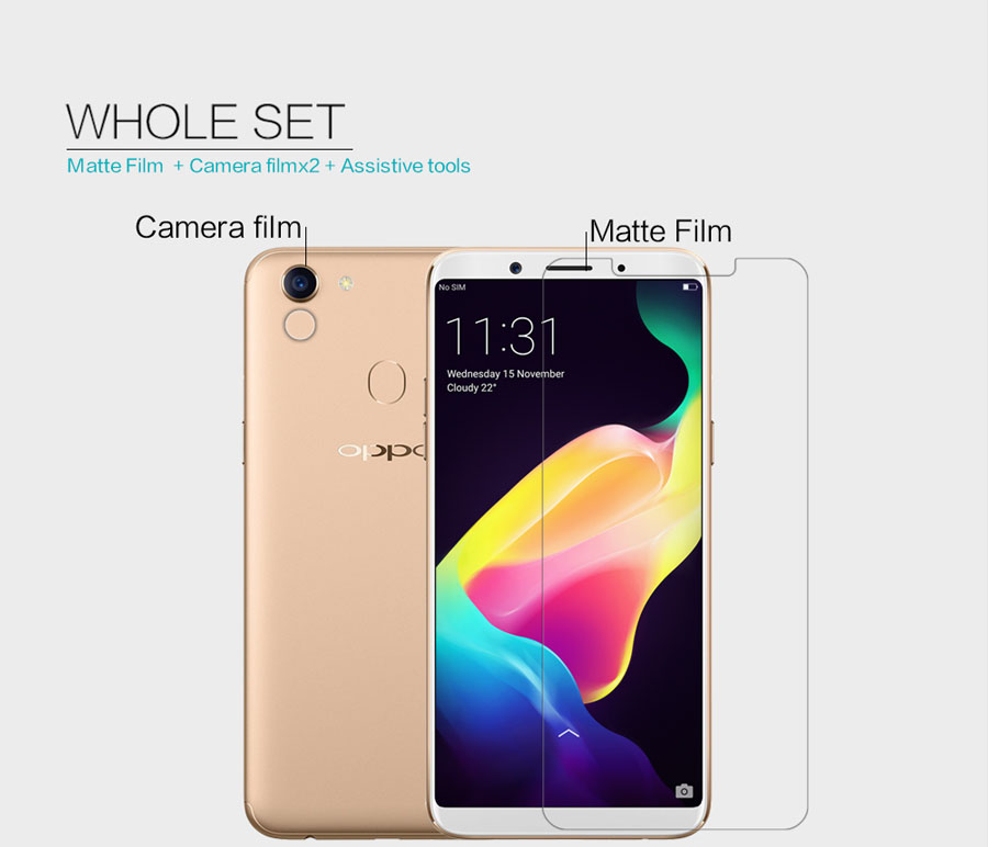 OPPO F5 screen protector