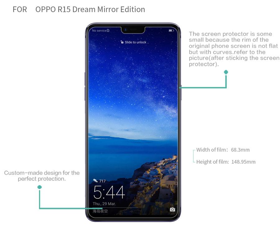 OPPO R15 Dream Mirror Edition screen protector