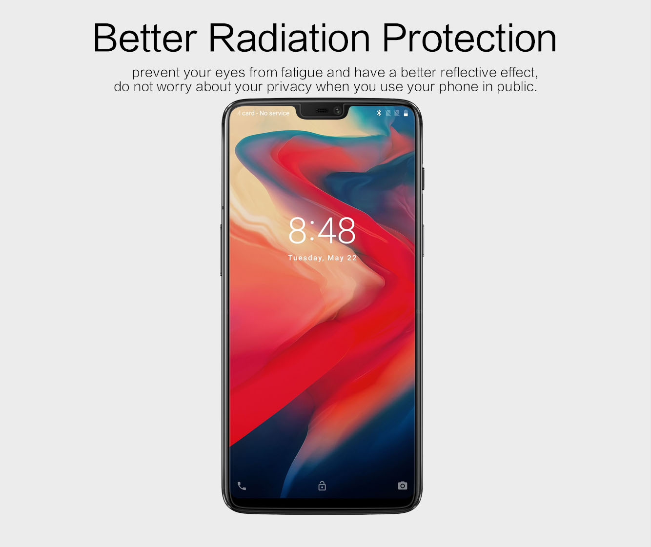 OnePlus 6 screen protector