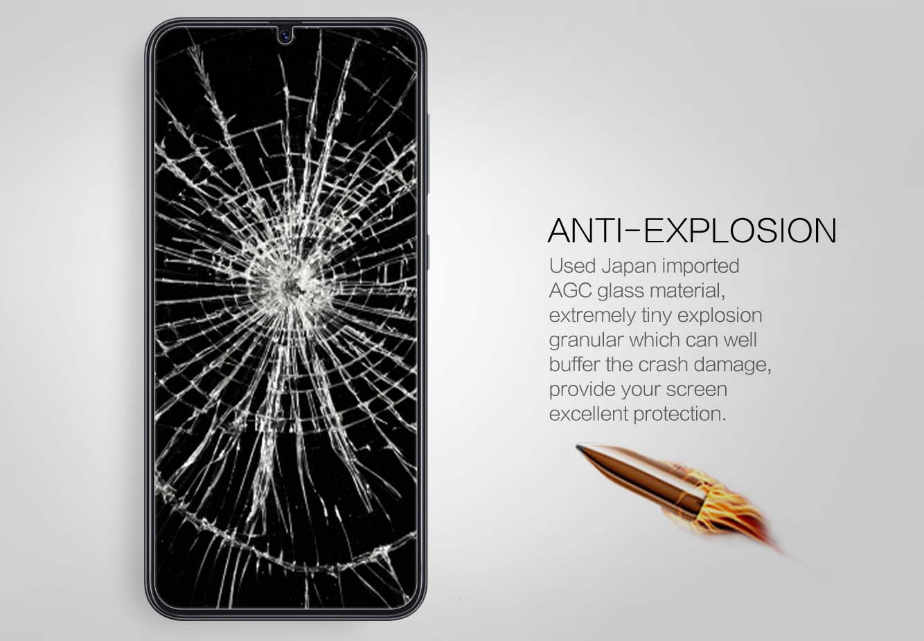 Samsung Galaxy A30/A50 screen protector