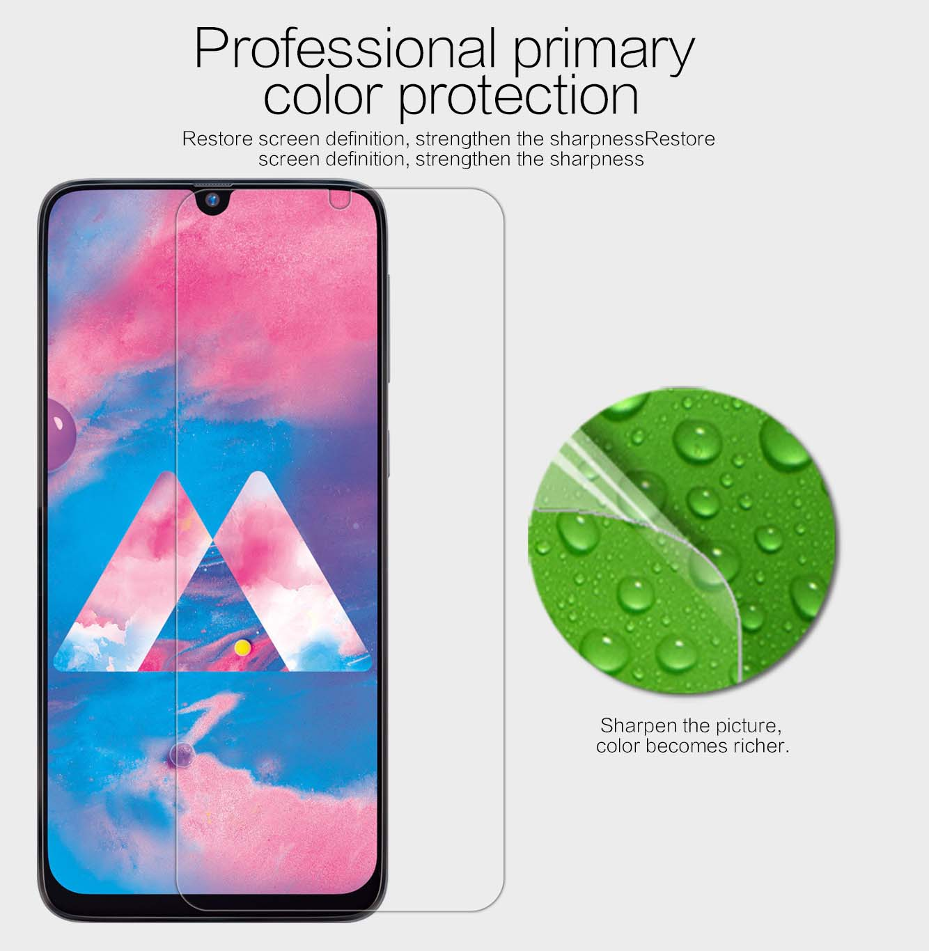 Samsung Galaxy A30/A50/M30 screen protector