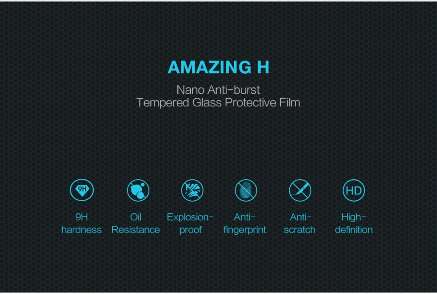 Nillkin Amazing H Anti-Explosion Glass Screen Protector For Samsung A8 ( 2016 )