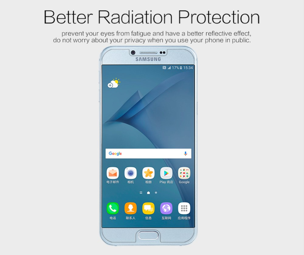 Nillkin Matte Protective Film For Samsung A8 ( 2016 )