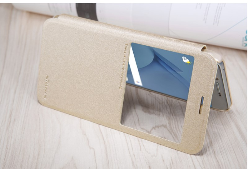 Samsung A8 Leather Flip Case