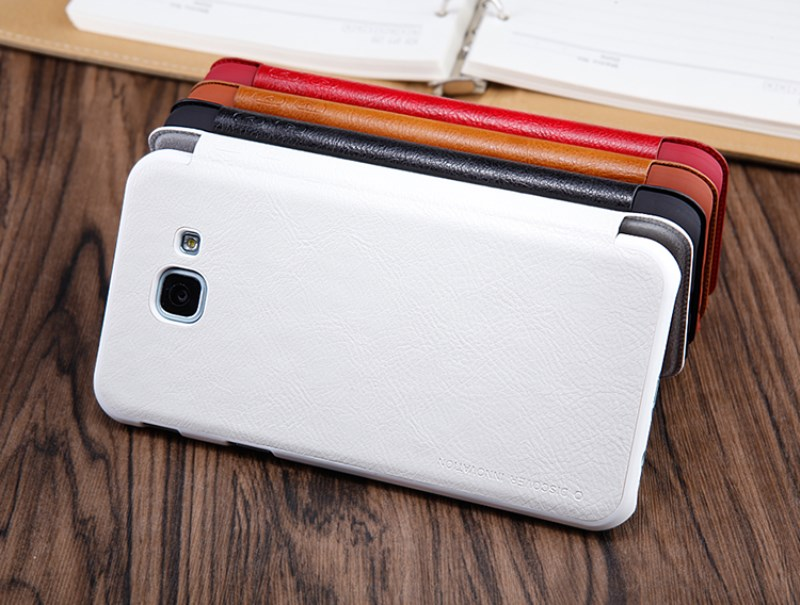 Samsung A8 Leather Flip Case