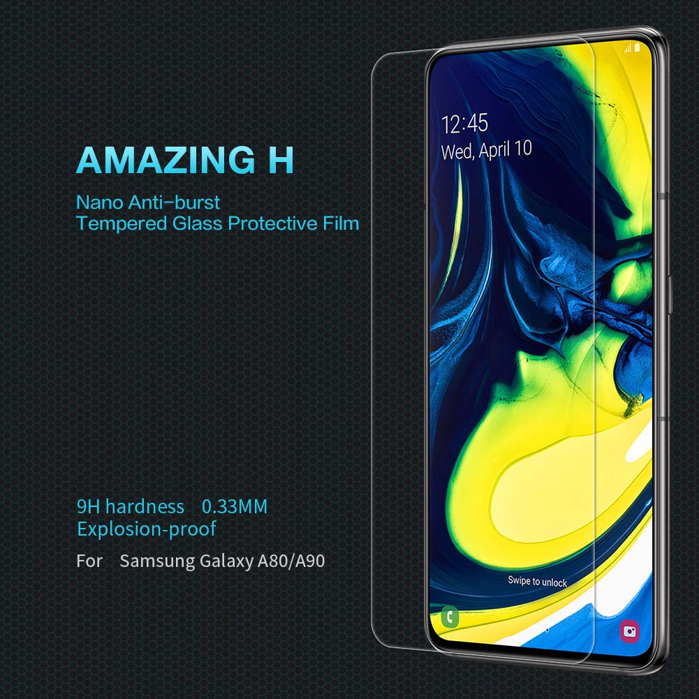 Samsung Galaxy A80 screen protector