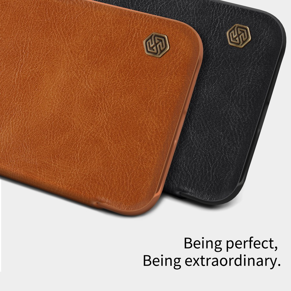 Nillkin Qin Series Leather Flip Case For Samsung Galaxy J2 Pro