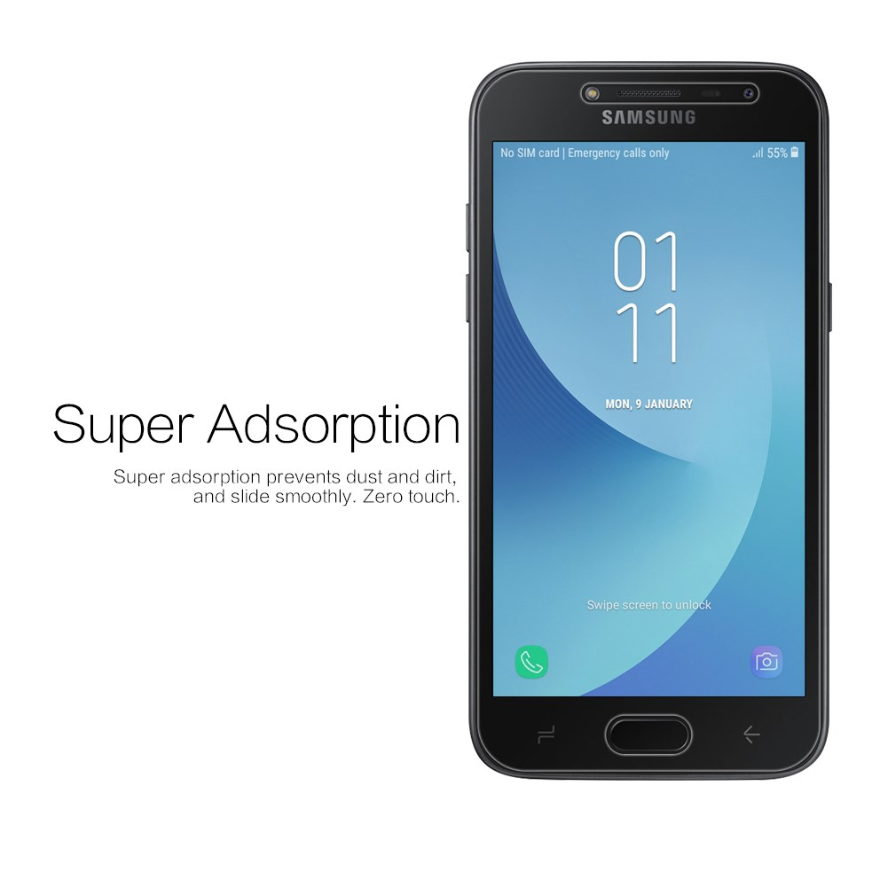 Nillkin Super Clear Anti-fingerprint Protective Film For Samsung Galaxy J2 Pro