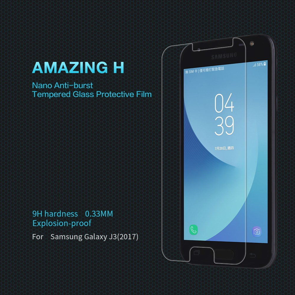 Samsung J3 2017 Tempered Glass Screen Protector