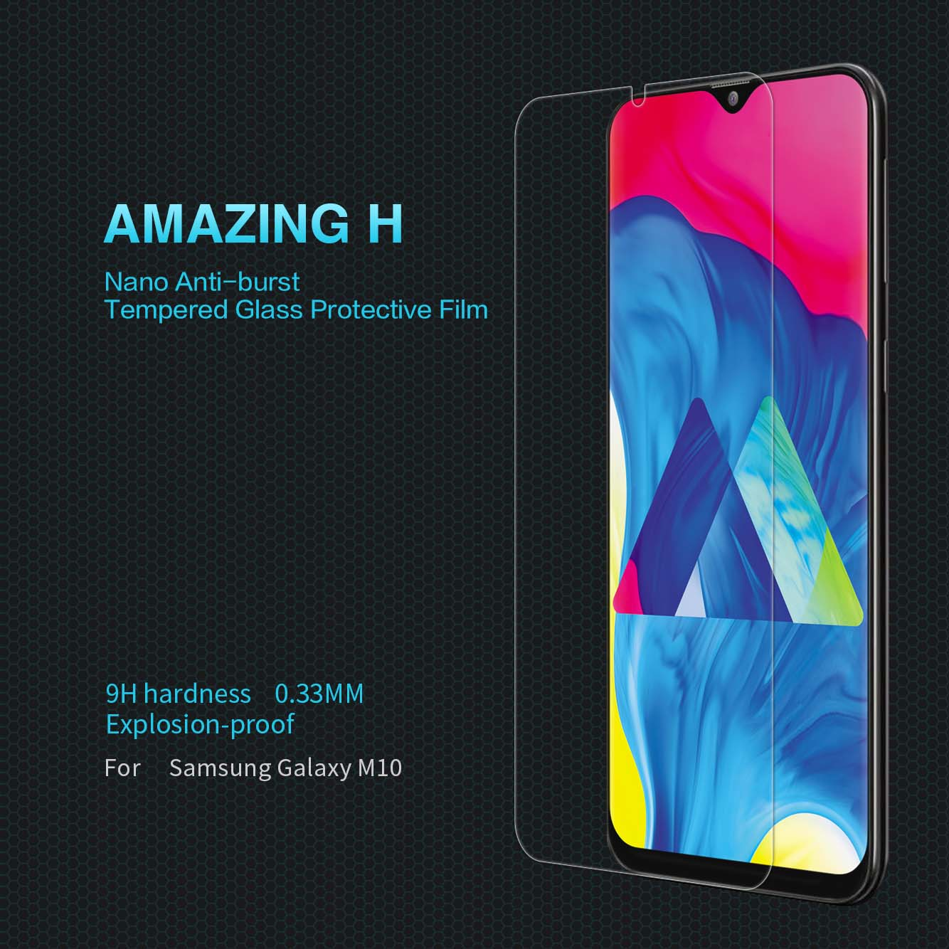 Samsung Galaxy M10 screen protector
