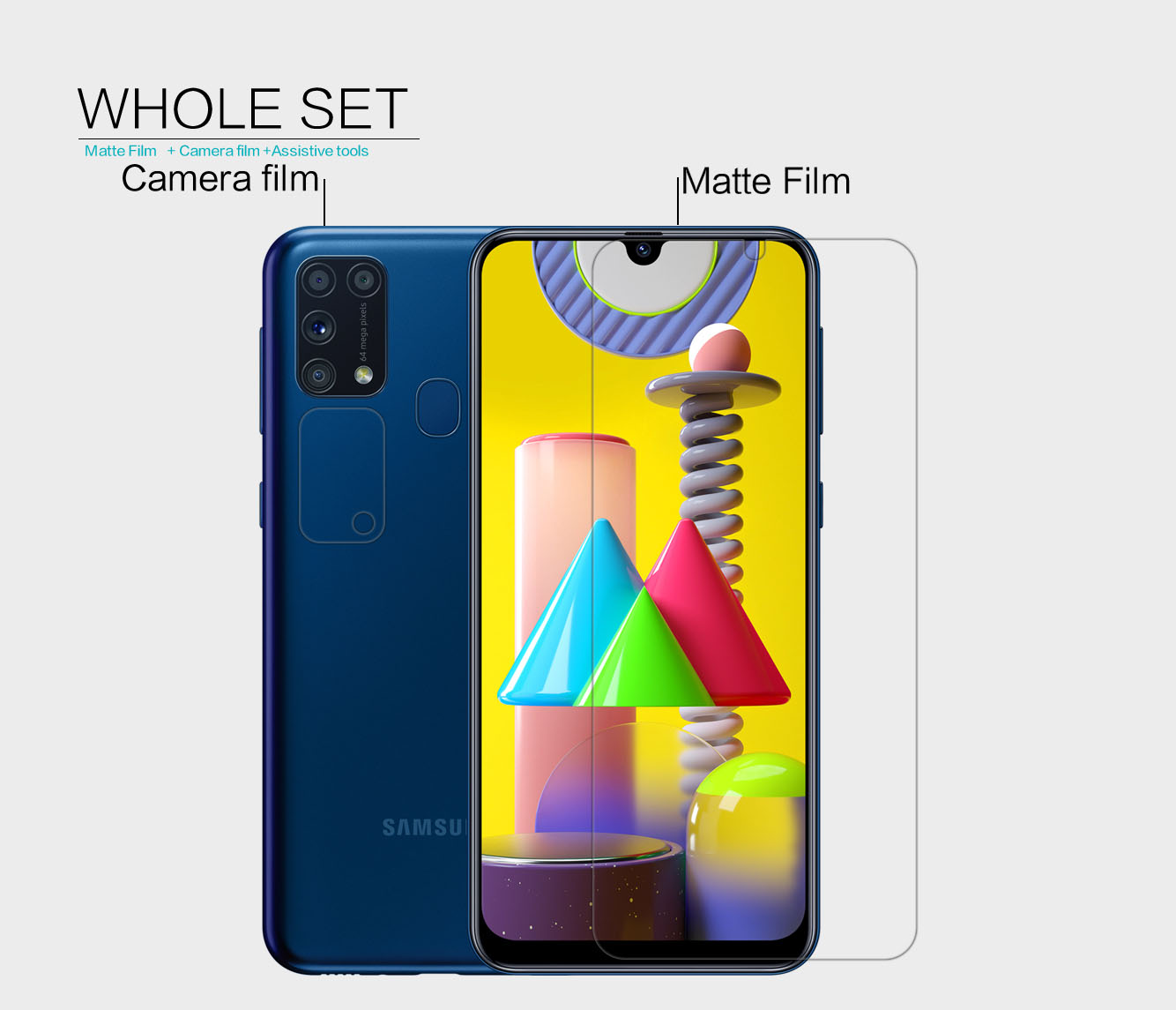Samsung Galaxy M31 screen protector