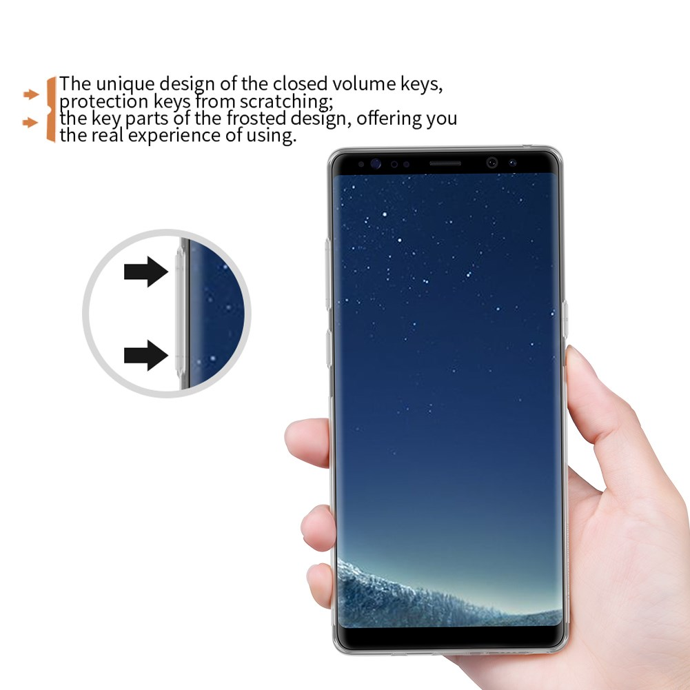Nillkin Nature TPU Back Case For Samsung Galaxy Note 8