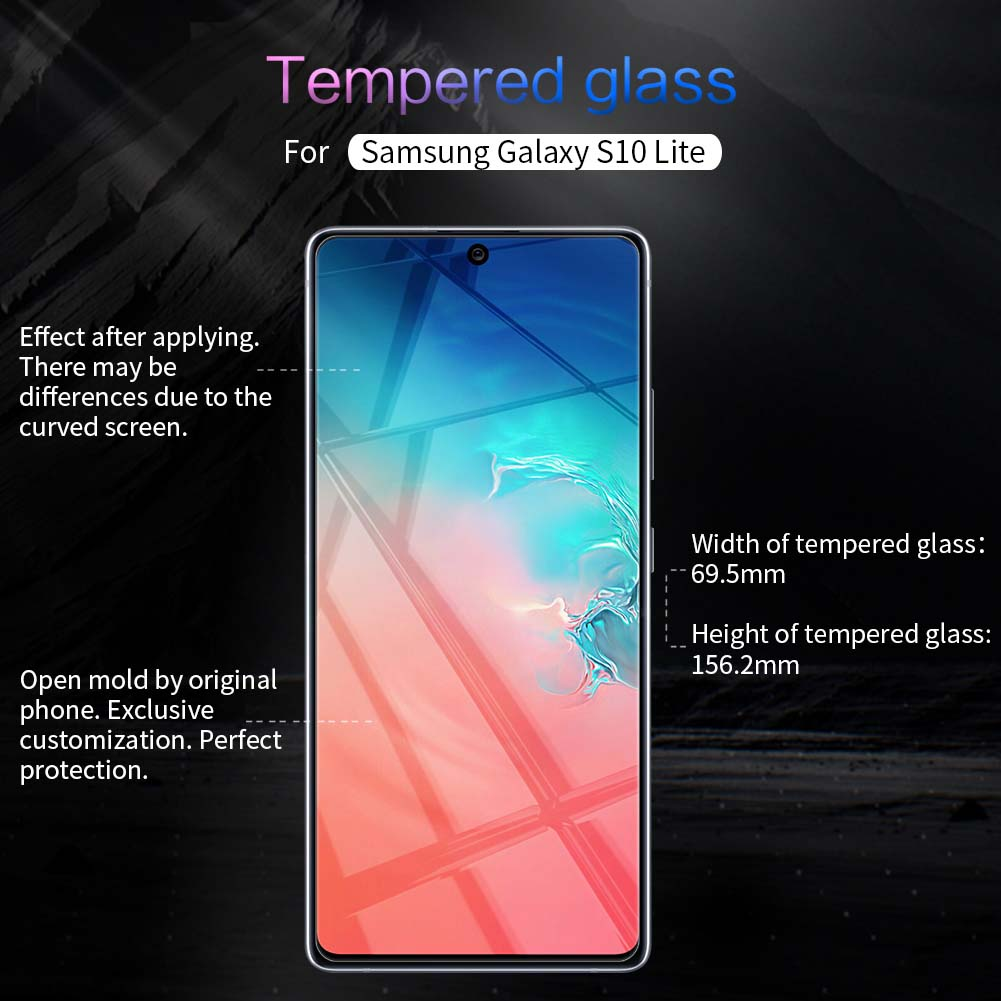 Samsung Galaxy S10 Lite screen protector
