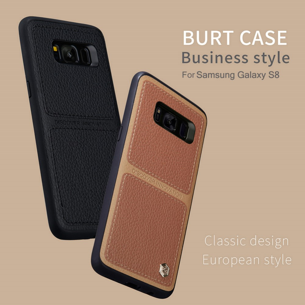 Nillkin Burt Series Business style TPU With PC Back Case For Samsung Galaxy S8