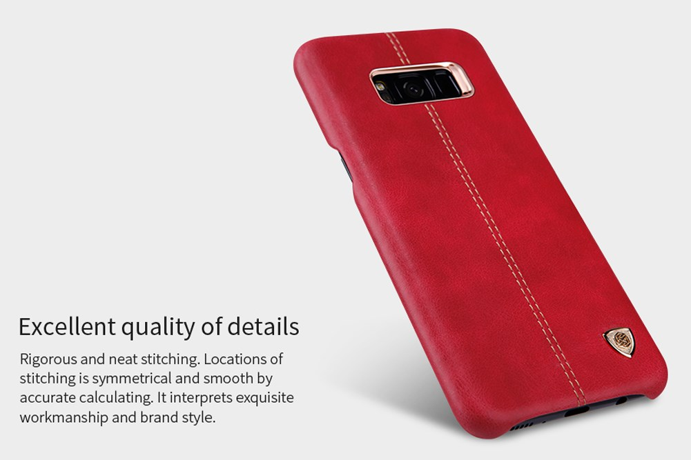Samsung Galaxy S8 Plus Leather Cover Case