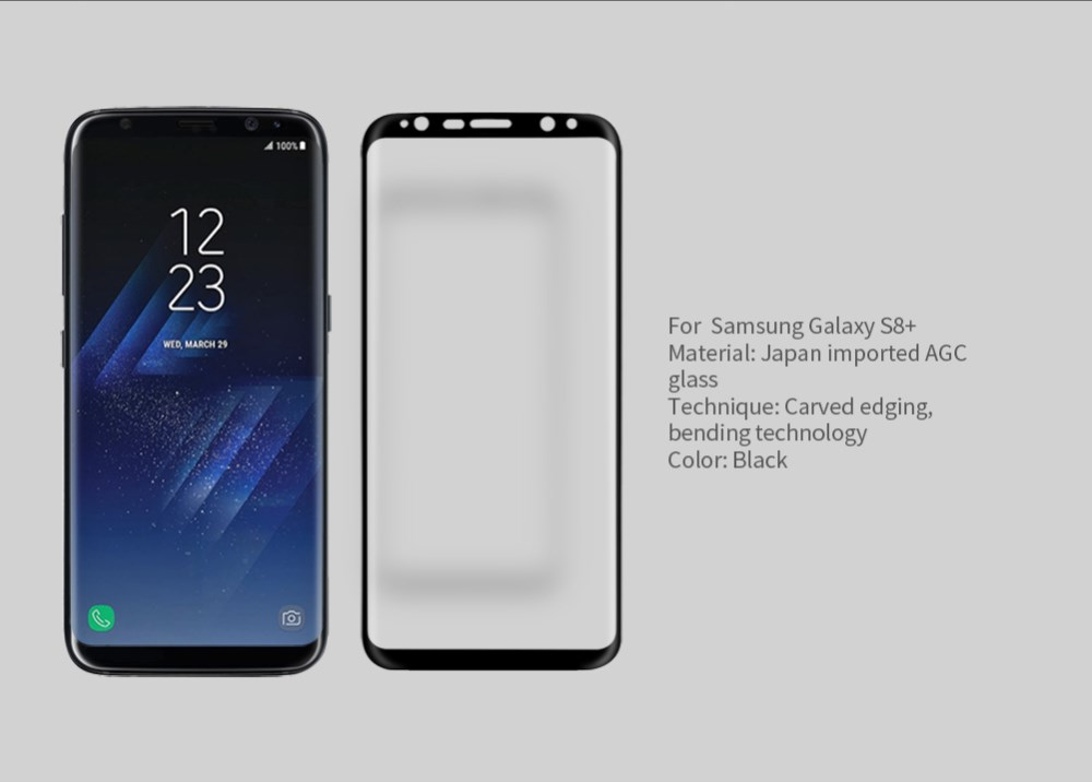 Nillkin Tempered Glass Screen Protector For Samsung Galaxy S8 Plus