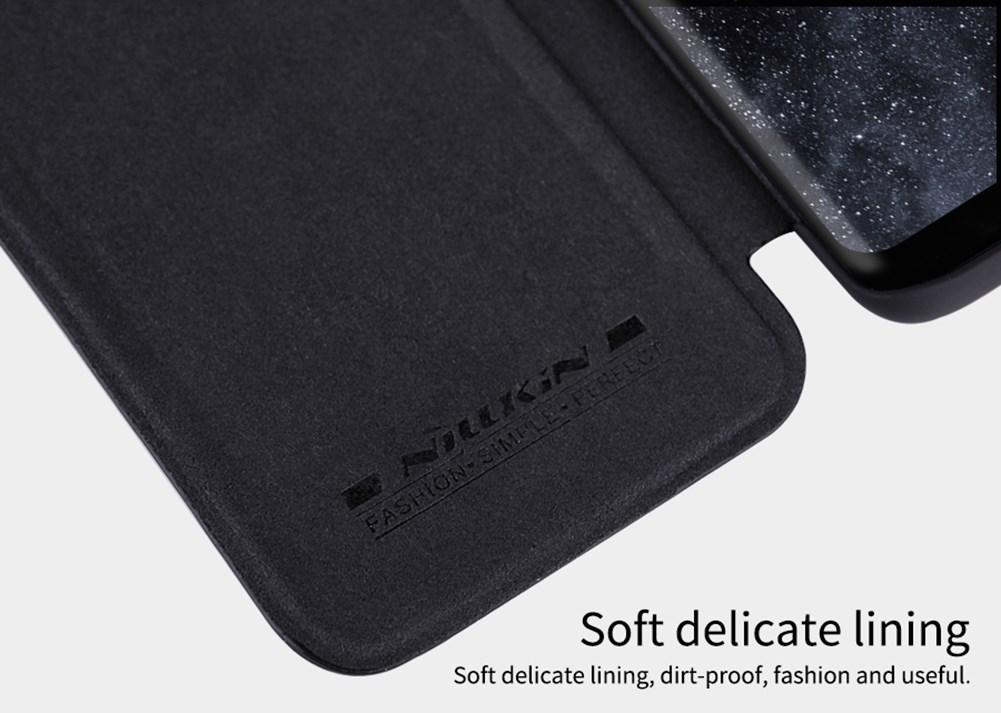 Samsung Galaxy S8 Plus Leather Flip Case