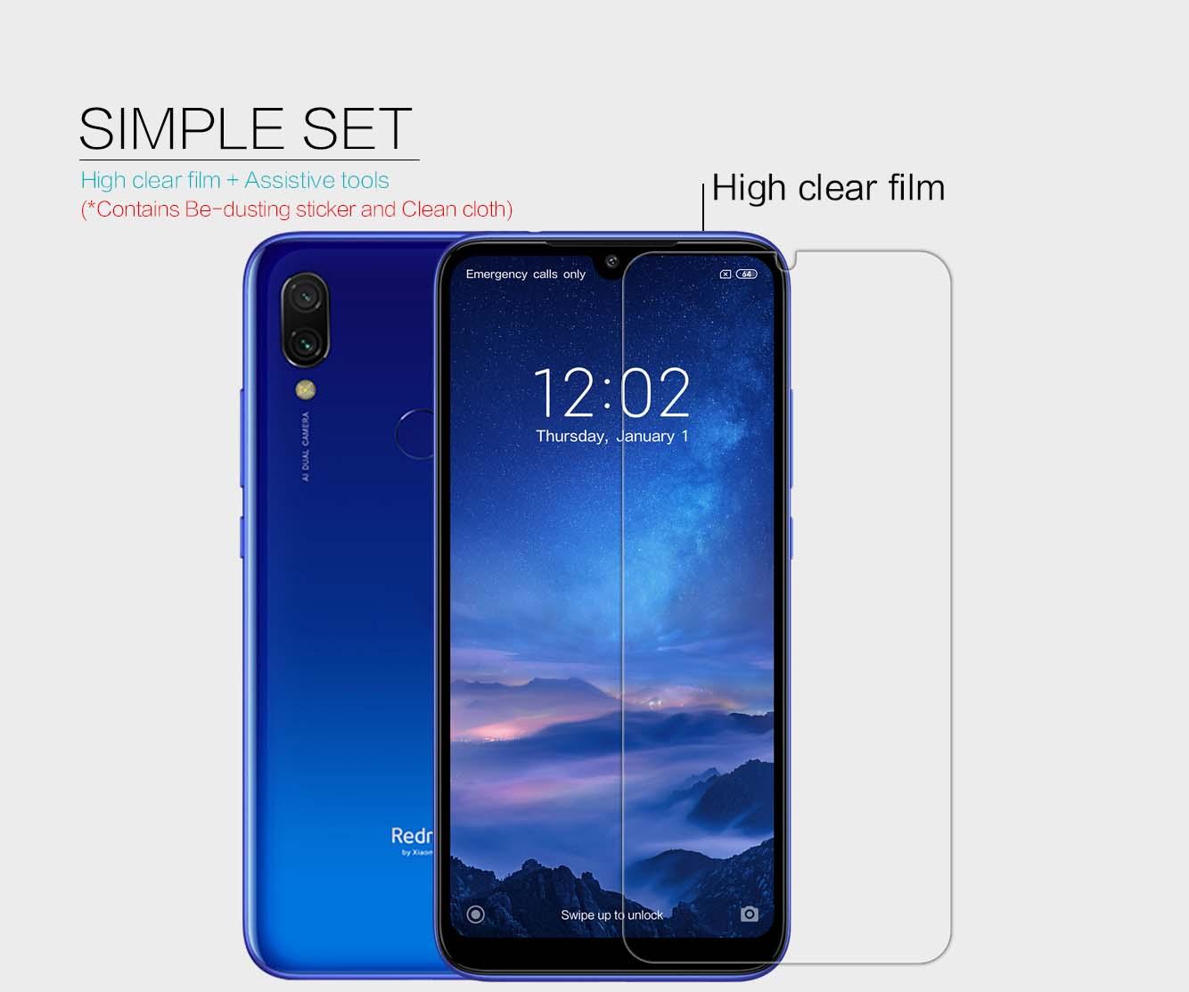 Xiaomi Redmi 7 screen protector