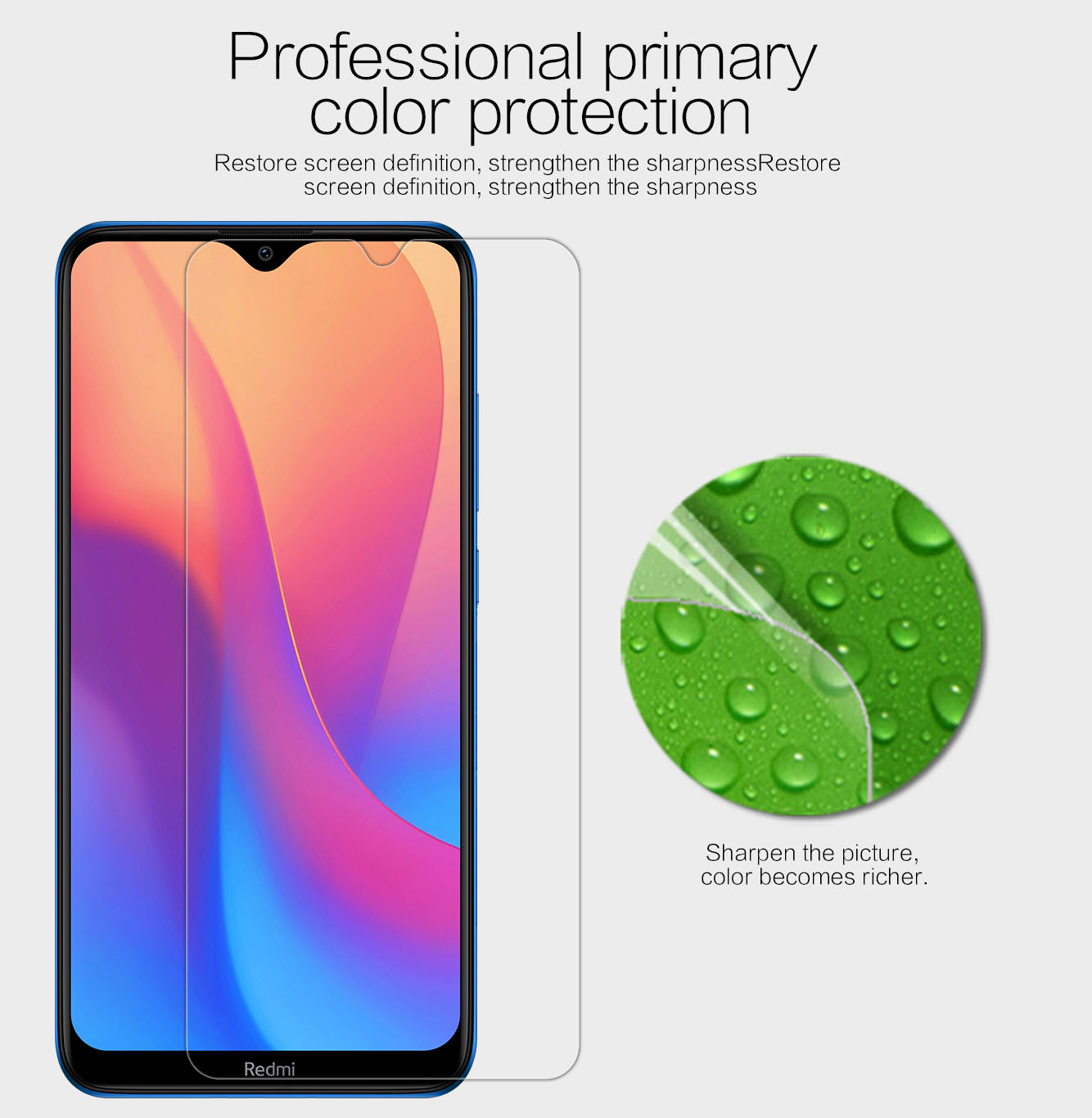 Xiaomi Redmi 8 screen protector