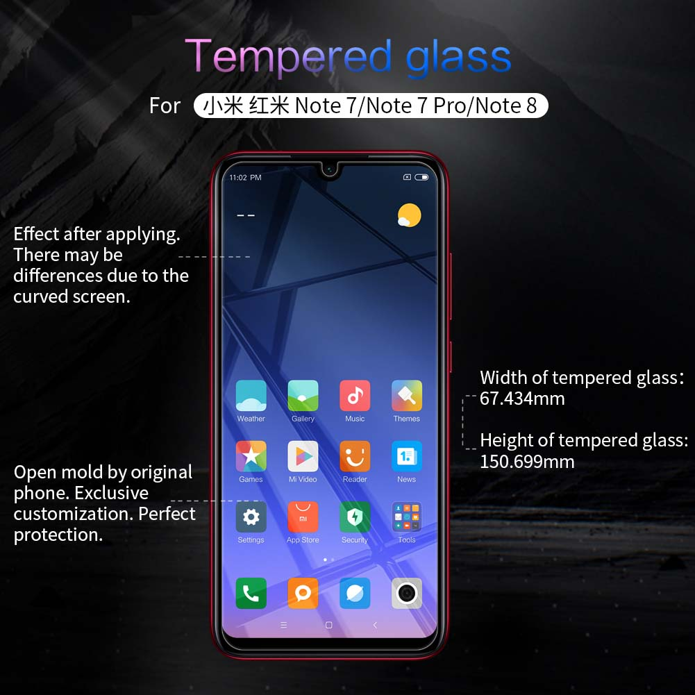 Xiaomi Redmi Note 8 screen protector