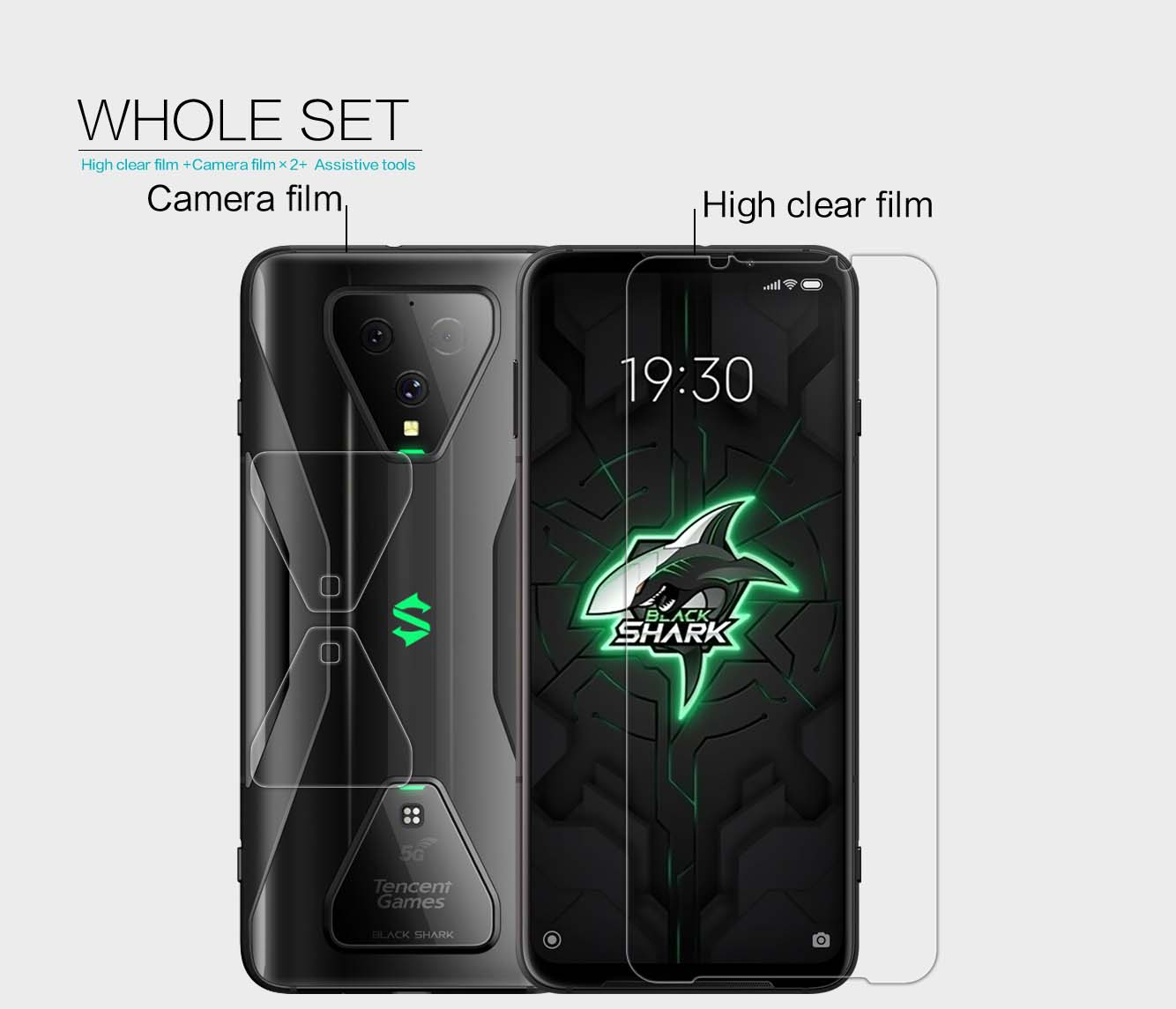Xiaomi Black Shark 3 screen protector