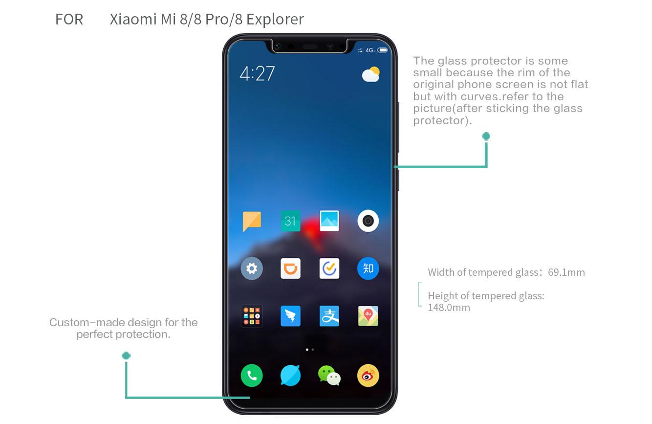 XIAOMI Mi 8 screen protector