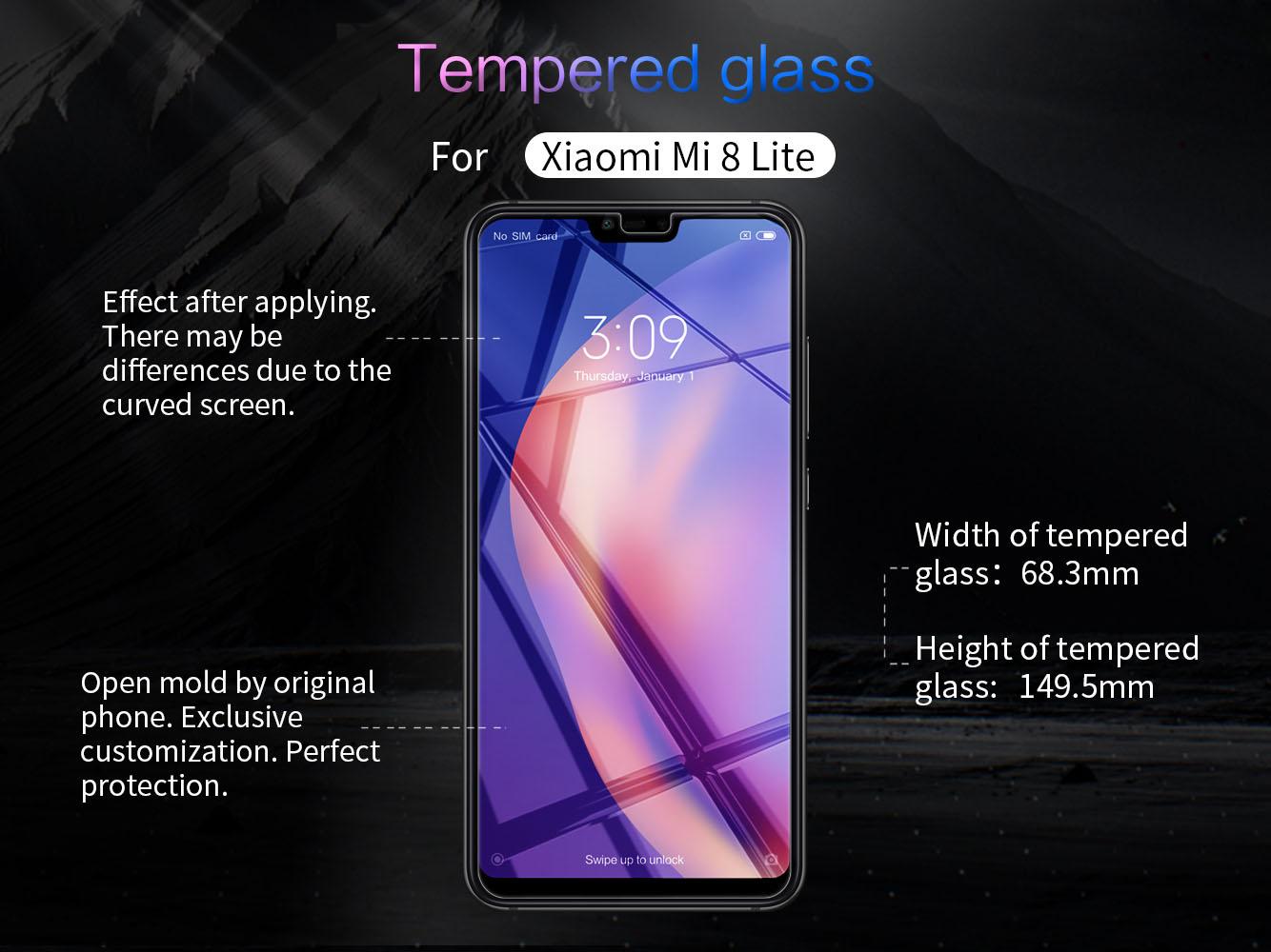 XIAOMI Mi 8 Lite screen protector