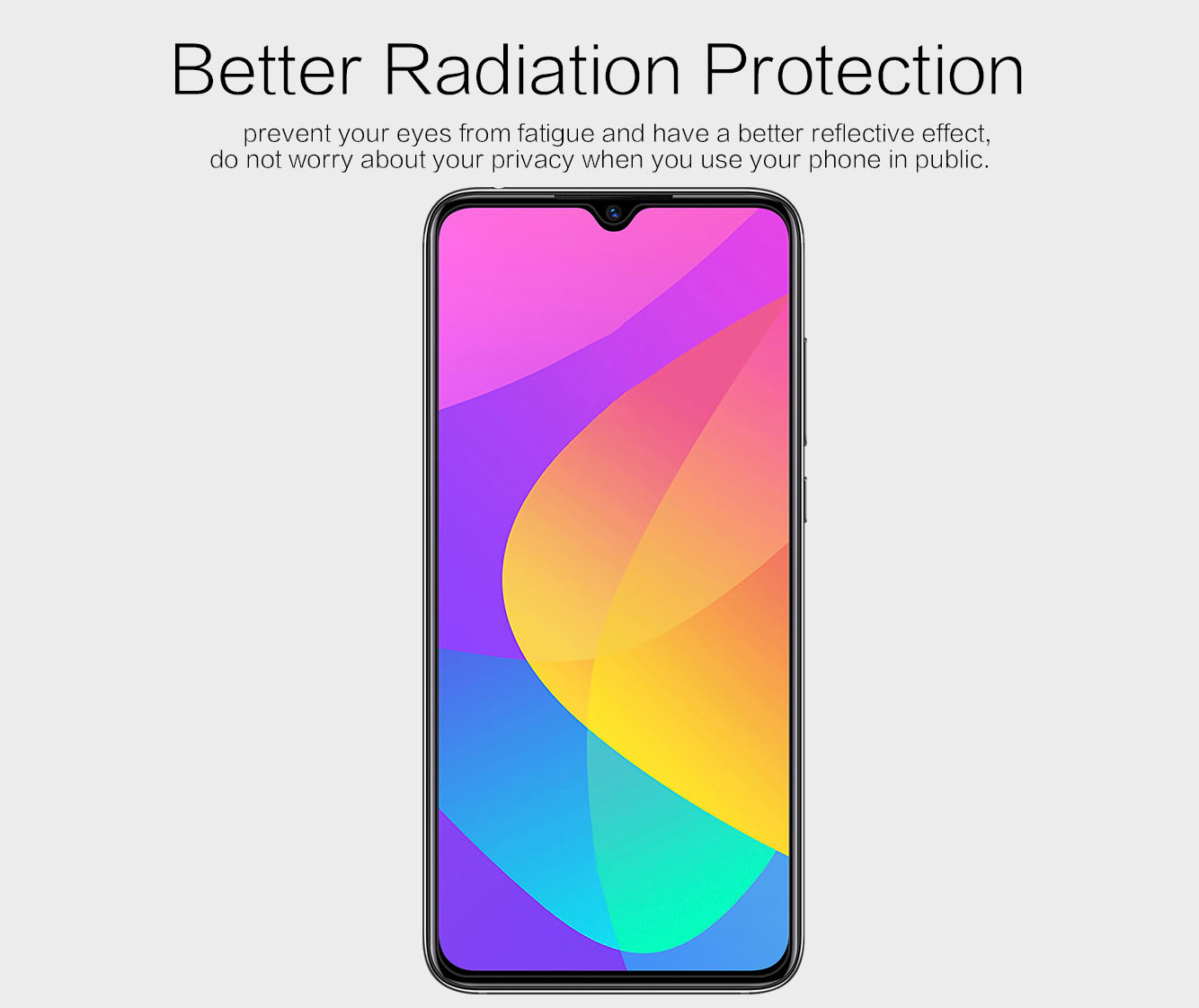 Xiaomi Mi CC9 screen protector