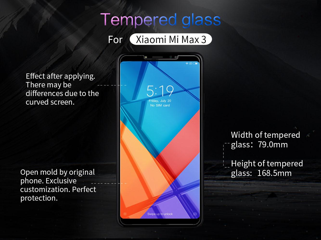 XIAOMI Mi Max 3 screen protector