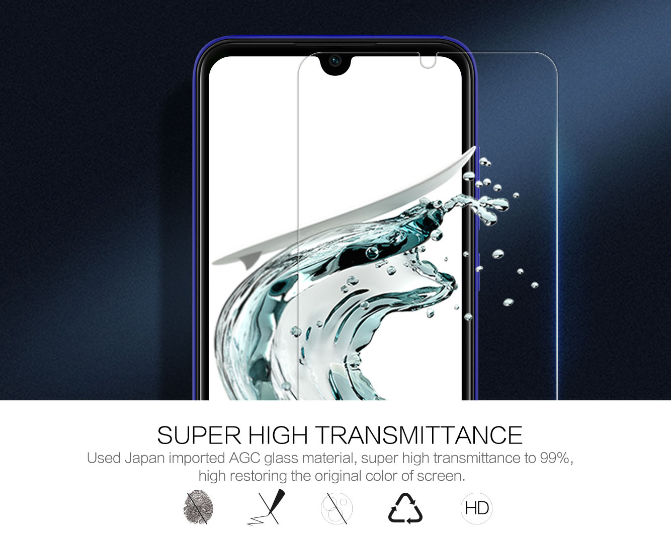 XIAOMI Mi Play screen protector